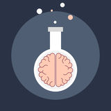 Brain chemistry Royalty Free Stock Images