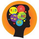 Brain Child Stock Image