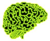 Brain Circuit Concept Lizenzfreie Stockfotos