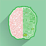 Brain Circuit vector Stock Photography