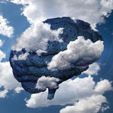 Brain Cloud Immagine Stock