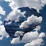 Brain Cloud Royalty Free Stock Image