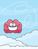 Brain in Clouds Stock Images