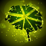 Brain crushing, abstract light background royalty free illustration