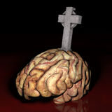 Brain Dead Stock Image