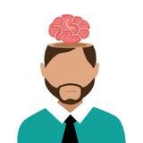 Brain design. Stock Images
