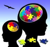 Brain Development Stockfoto