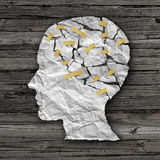 Brain Disease Therapy Imagens de Stock