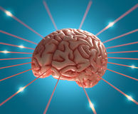 Brain Energy Stock Image