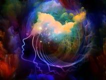Brain Fog Royalty Free Stock Photo