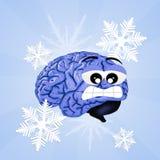 Brain freeze Royalty Free Stock Photos