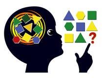 Brain Games para crianças Imagem de Stock