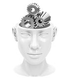 The brain gear Royalty Free Stock Photography