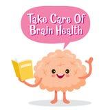 Brain, Human Internal Organ, Cartoon Character Royalty Free Stock Photos