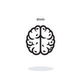 Brain Icon Image stock