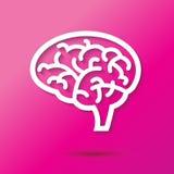 Brain Icon Photographie stock libre de droits