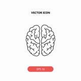 Brain Icon immagini stock libere da diritti