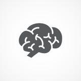 Brain Icon Photo libre de droits