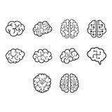 Brain Icon Stockbild