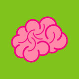 Brain Icon Royaltyfria Bilder