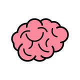 Brain Icon Arkivbilder