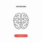 Brain icon royalty free stock images