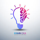 Brain Idea Fotografie Stock