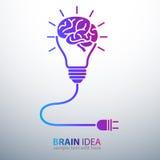Brain Idea Imagen de archivo libre de regalías