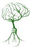 Brain idea tree Stock Images