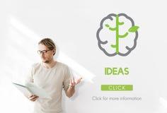 Brain Ideas Creativity Imagination Inspiration Fotografía de archivo
