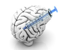 Brain Injection Royalty Free Stock Photography