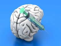 Brain Injection Stock Photos