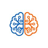 Brain Logo Template Photo stock