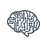 Brain Logo Template Photos libres de droits