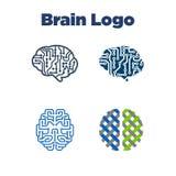 Brain Logo Template Photographie stock libre de droits