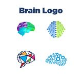 Brain Logo Template Royalty Free Stock Image
