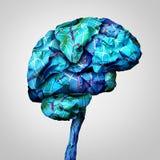 Brain Mapping stock abbildung