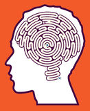 Brain Maze Puzzle Royalty Free Stock Photography