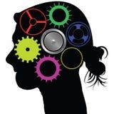 Brain mechanism Stock Photo