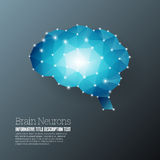 Brain Neurons Royalty Free Stock Photo