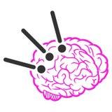 Brain Operation Raster Icon stock de ilustración