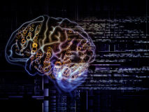 Brain Pathways Stock Image