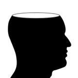 Brain Power e pensiero creativo Fotografie Stock Libere da Diritti
