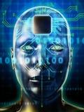 Brain processor Royalty Free Stock Photo
