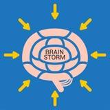 Brain Storm illustration de vecteur