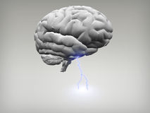 Brain Storm Royalty Free Stock Image