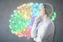 Brain storm concept Royalty Free Stock Photography