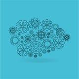 Brain storm design Royalty Free Stock Image