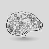 Brain storm design. Illustration eps10 graphic Stock Photo