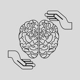 Brain storm design. Illustration eps10 graphic Stock Photos